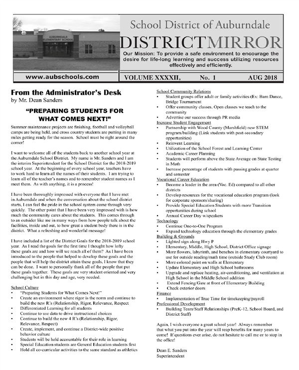 August 2018 District Mirror Page 1
