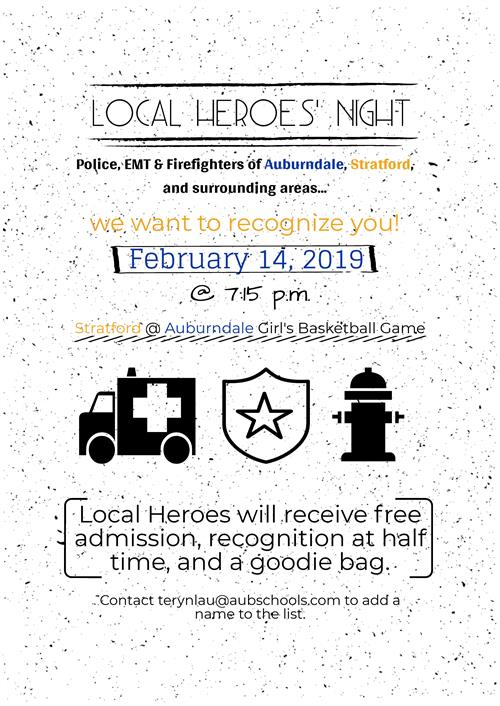 Local Heroes' Night